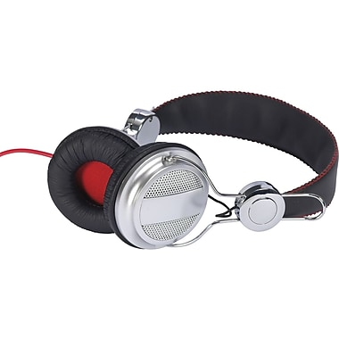 RCA HP5043 Ampz Full-Size Headphone, Black/Gray