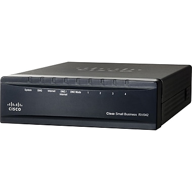 Cisco® RV042G Dual Gigabit WAN VPN Router