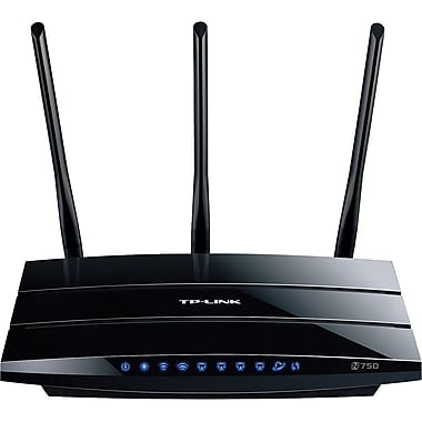 TP-LINK® TL-WDR4300 Dual Band Gigabit Wireless N750 Router, 2.4GHz + 5GHz