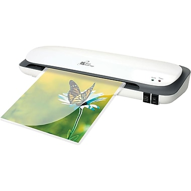 Royal Sovereign® CS Thermal and Cold 2 Roller Pouch Laminator, 12in.(W), White, Up to 5 mil (T) Pouch