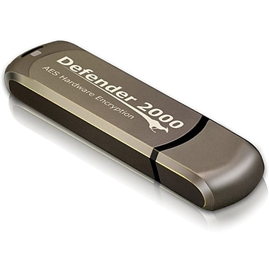 Kanguru Defender 2000™ KDF2000 FIPS 140-2 Level 3, 8GB USB 2.0 Flash Drive xGB