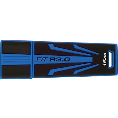 Kingston® DataTraveler R3.0 DTR30 USB 3.0 Flash Drive, 16GB