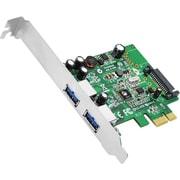 Siig® JU-P20811-S1 Value 2 Port USB Adapter