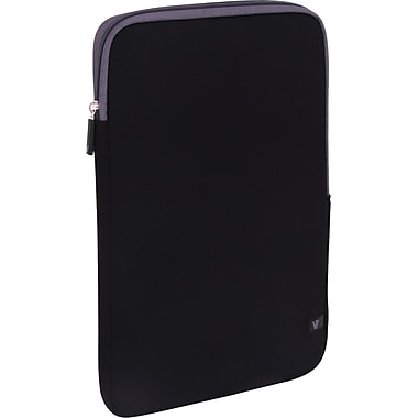 V7® CSS4-GRY-2N 13.3in. Ultra Protective Sleeve For Ultrabook, Black/Gray