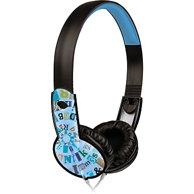 Maxell® 190297 Safe Soundz Headphone, Blue