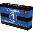VisionTek® 900549 Radeon HD 7750 GPU Graphic Card With AMD Chipset, 1GB GDDR5 SDRAM