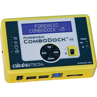 CRU Wiebetech Aluminium Forensic ComboDock v5 Drive Dock (31360-3209-0000)