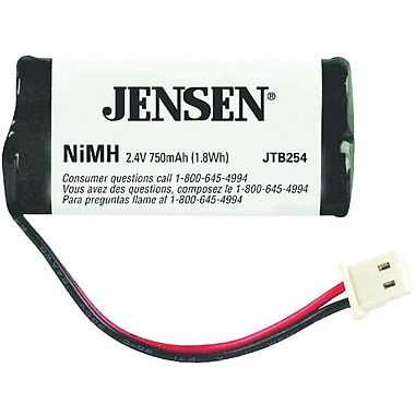 Jensen® JTB254 750 mAh Ni-MH Cordless Phone Battery For AT and T and V-Tech