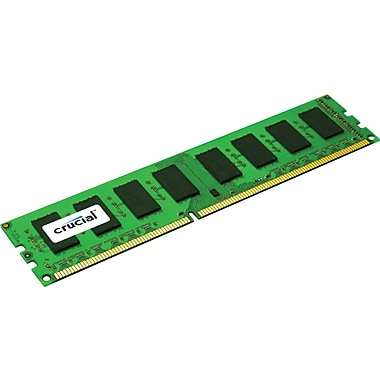 Crucial Technology CT12864BA1339A DDR3 SDRAM (240-Pin DIMM) Memory Module, 1GB