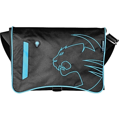 Roccat™ Into Street-Proof 17.3in. Messenger Bag, Black