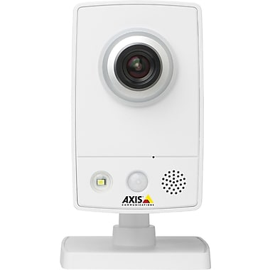 AXIS® M1034-W Surveillance/Network Camera, 1/4in. Progressive Scan RGB CMOS