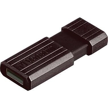 Verbatim® Store 'n' Go® 49061 USB 2.0 Sliding Pinstripe Flash Drive, 64GB