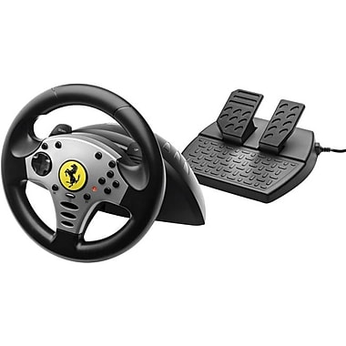 Thrustmaster® 4160525 Ferrari Challenge Racing Wheel For PC/PS3, Black