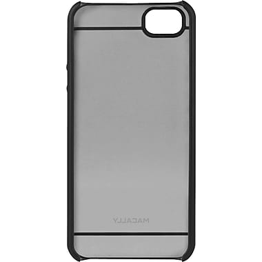 macally™ Hardshell Case For iPhone 5, Clear/Black