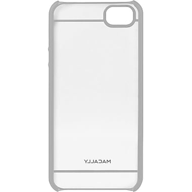 macally™ Hardshell Case For iPhone 5, Clear/Gray