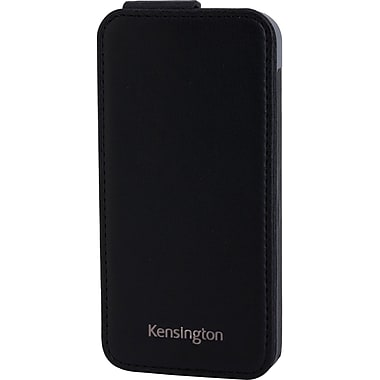 Kensington® Portafolio™ Flip Carrying Case For iPhone 5, Black Marble