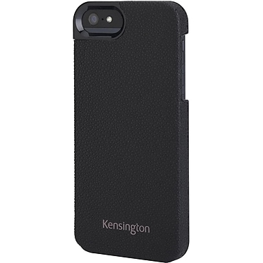 Kensington® Vesto LeaTher Texture Case For iPhone 5, Black