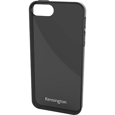 Kensington® Gel Case For iPhone 5, Smoke Black