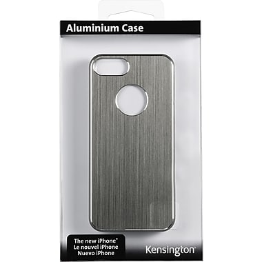 Kensington® Aluminum Finish Case For iPhone 5, Gray