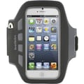 Belkin® Ease-Fit Plus Armband For iPhone 5, Blacktop
