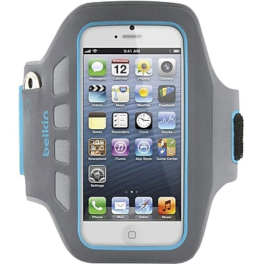 Belkin® Ease-Fit Plus Armband For iPhone 5, Day Glow