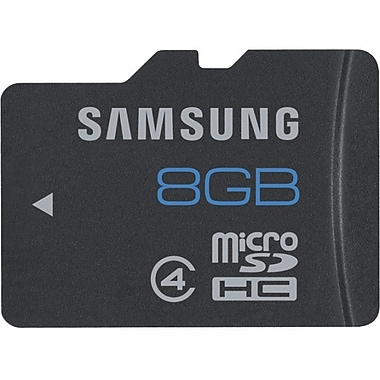 Samsung MB-MS Hi-Speed MicroSD High Capacity Flash Memory Card, 8GB