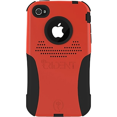 Trident® Aegis Case For Apple iPhone 4/4S, Red