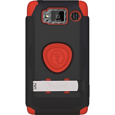 Trident® Carrying Case For Motorola Droid Razr HD XT926 Smartphone, Red