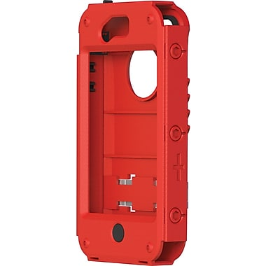 Trident® Kraken A.M.S. Exoskeleton Case For Apple iPhone 4/4S, Red