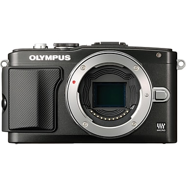 Olympus PEN E-PL5 2.5in. H x 4.4in. W x 1.5in. D Black Mirrorless Digital Camera, 16.1 Mega Pixels