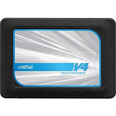 Crucial® v4 Solid State Drive, 2 1/2in. SATA/300 Internal, 128GB