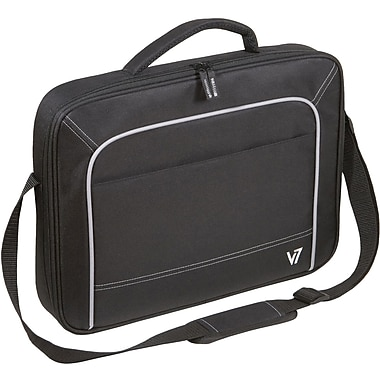 V7® CCV4-9N 13in. Vantage Laptop Case, Black/Grey