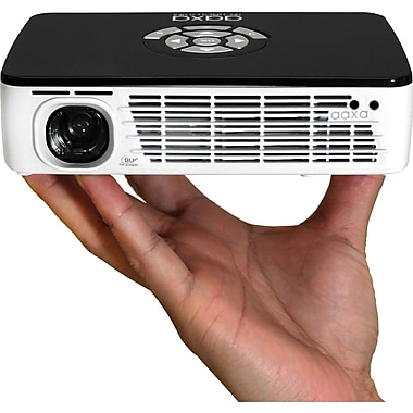 AAXA P300 LED Pico Projector, 300 Lumens, Li-Ion Battery, WXGA, Media Player, DLP