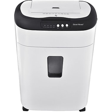Gear Head™ PS800MXW Micro Cut Paper Shredder, 60 Sheets