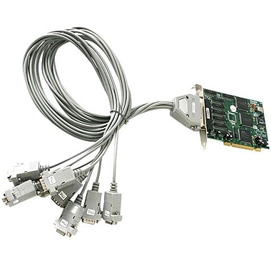 Startech.com® PCI8S9503V 8 Port 5.7in. PCI RS232 Serial Adapter Card