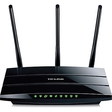 TP-LINK® TD-W8970 Wireless-N Modem Router, 2.4GHz + 2.48GHz