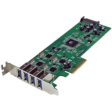Startech.com® 400 4 Port PCI Standard Profile USB Adapter
