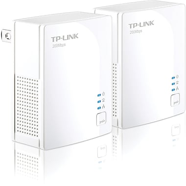 TP-LINK® TL-PA2010 AV200 Nano Powerline Adapter Starter Kit