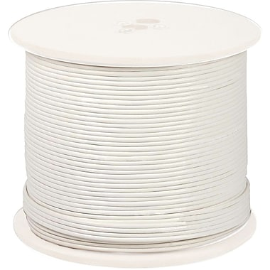 Night Owl® CAB-RG59W-500VP White In-Wall Fire Rated Cable, 500'(L)