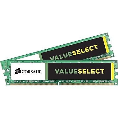 Corsair® CMV16GX3M2A1600C11 DDR3 SDRAM (240-Pin DIMM) Memory Module, 16GB