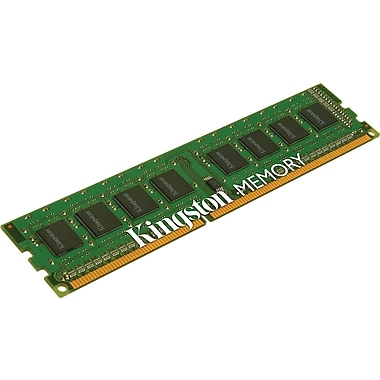 Kingston® KTL-TCM58BS/4G DDR3 SDRAM (240-Pin DIMM) Single Rank Memory Module, 4GB