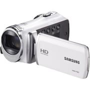 Samsung F90 52X Optimal Zoom HD Camcorder, 2.2(H) x 2.1(W) x 4.7(D), White