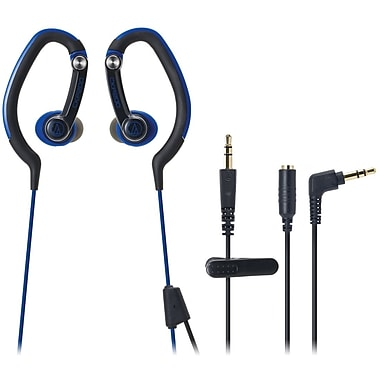 Audio-Technica® ATH-CKP200 SonicSport In-Ear Headphone, Blue