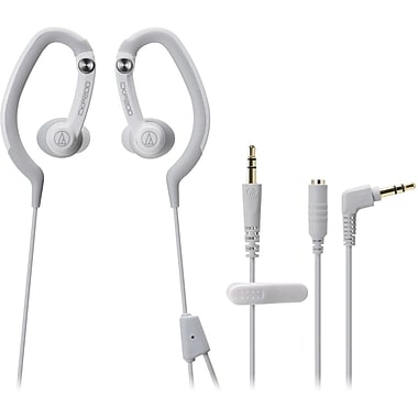 Audio-Technica® ATH-CKP200 SonicSport In-Ear Headphone, White