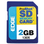 Edge™ Tech EDGDM-201265-PE Secure Digital High Capacity Flash Memory Card, 2GB
