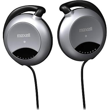 Maxell® Stereo Ear-Clip Headphones