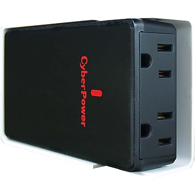 Cyberpower® 200 W Mobile Power Inverter, 12 VDC Input, 120 VAC Output, 2 Outlets
