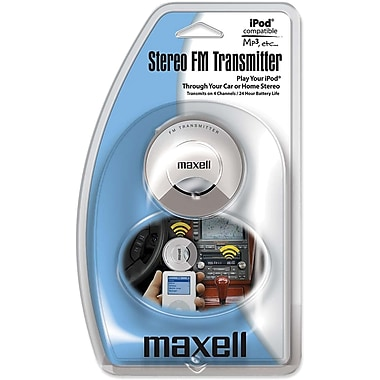 Maxell 191213 FM Transmitter For iPod