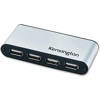Kensington® K33366 USB 2.0 Pocket Hub, 7 Ports