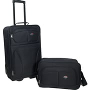American Tourister Fieldbrook 2 Piece Luggage Set, Black